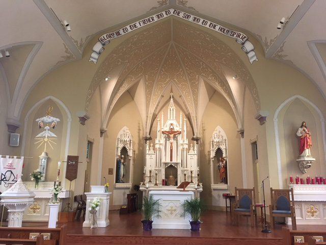 Holy Trinity Catholic Church – St  Mary's Parish